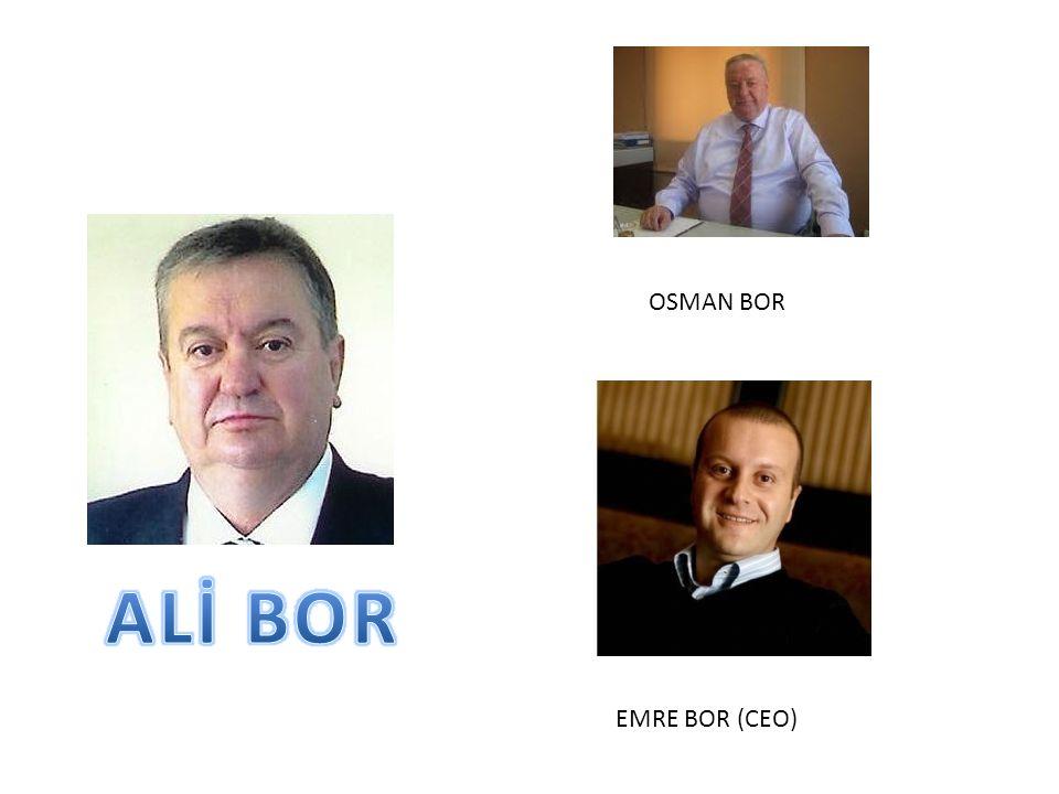OSMAN BOR EMRE BOR (CEO)