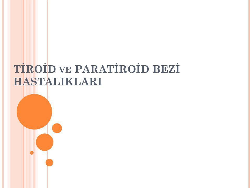 P RIMER H IPERPARATIROIDI Etyoloji Paratiroia adenomu Paratiroid hiperplazisi MEN 1 ve 2a sendronları Paratiroid karsinomu