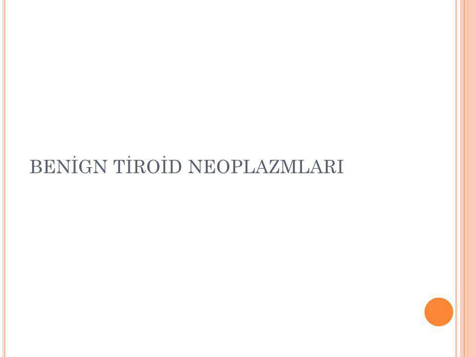 İ NCE İ ĞNE A SPIRASYON B IOPSISI Tiroid nodüllerinde en iyi tanı metodudur.