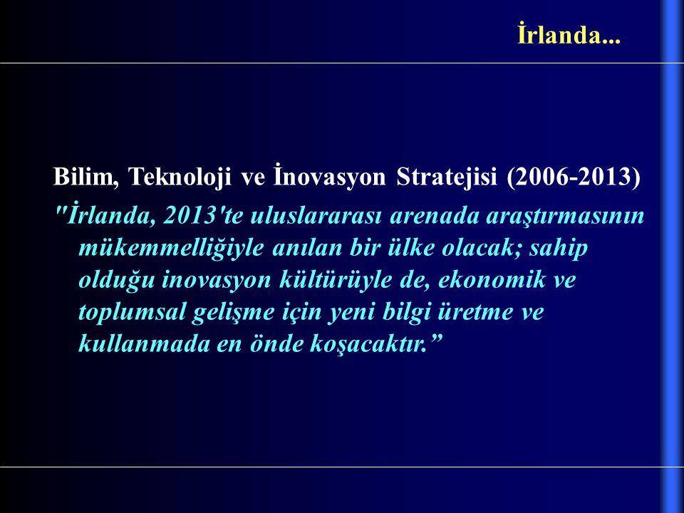 Bilim, Teknoloji ve İnovasyon Stratejisi (2006-2013)