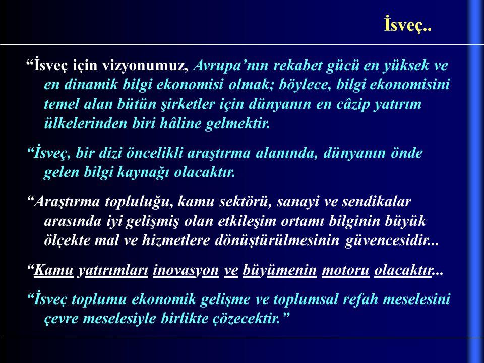 Türkiye'nin hâlâ, Kendi geleceği için öngördüğü, uzun vâdeli, herhangi bir stratejik hedefi yok...
