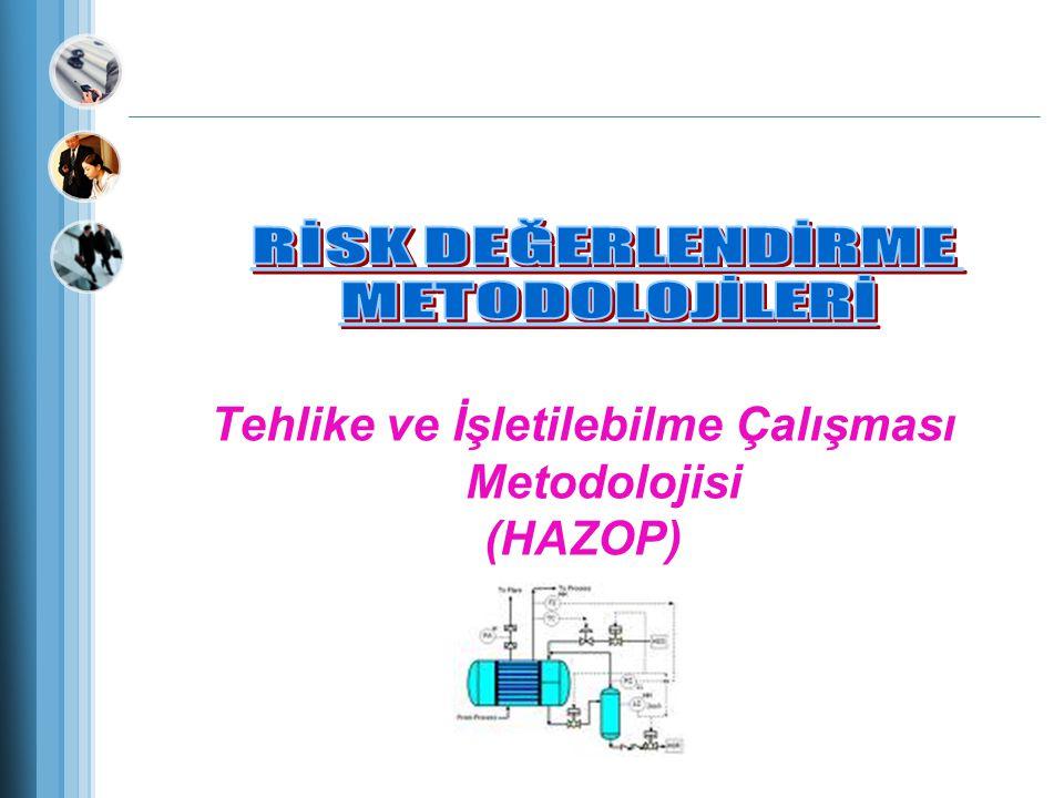 Tehlike ve İşletilebilme Çalışması Metodolojisi (HAZOP)