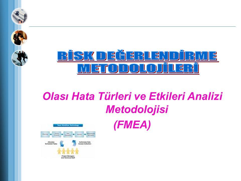 Olası Hata Türleri ve Etkileri Analizi Metodolojisi (FMEA)