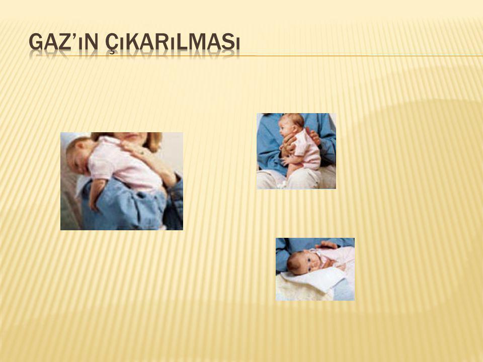  Yenidoğan bebekler zamanının çoğunu uyuyarak geçirir (18-20saat), zamanla uyanık olduğu süre artar.
