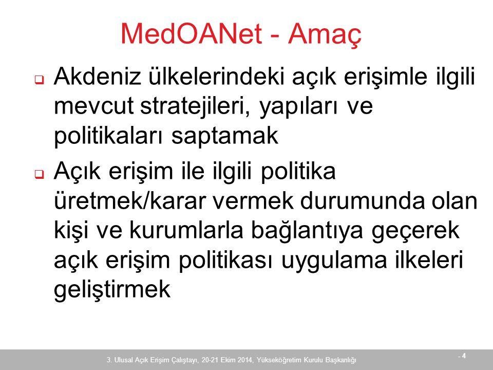 - 5 MedOANet - Partnerler 3.