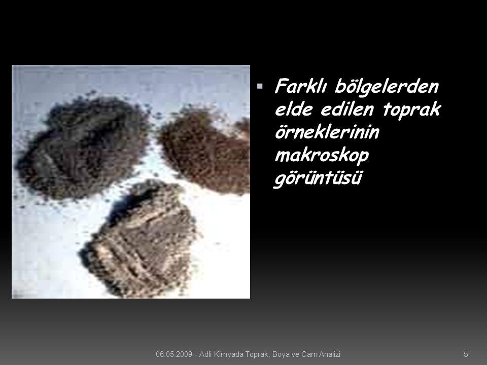 TOPRAK ÖRNEKLERİ  Toprak; çevre ve doğal olaylardan direkt olarak etkilenen maddedir.