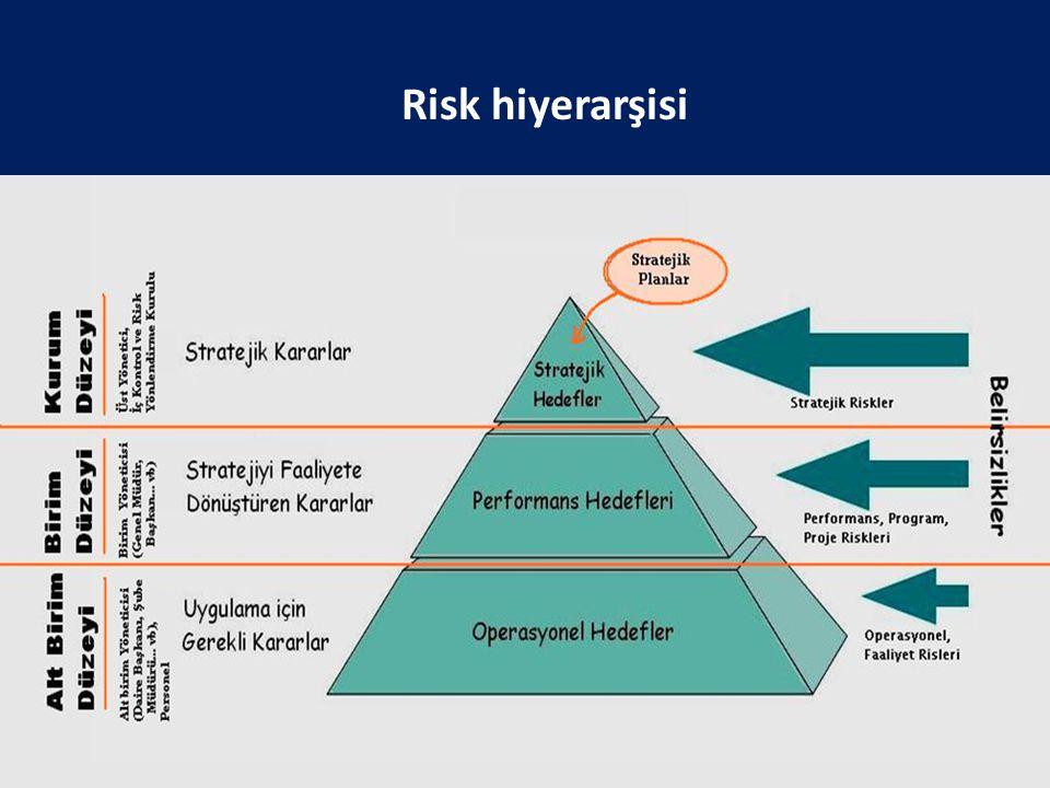 Risk hiyerarşisi 28