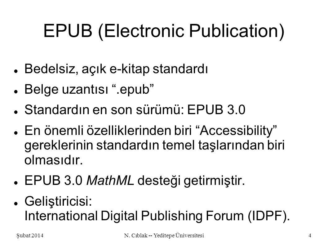 Şubat 2014N.Cıblak -- Yeditepe Üniversitesi5 IDPF in Yüzlerce Üyesinden Bazıları Adobe Apple Am.