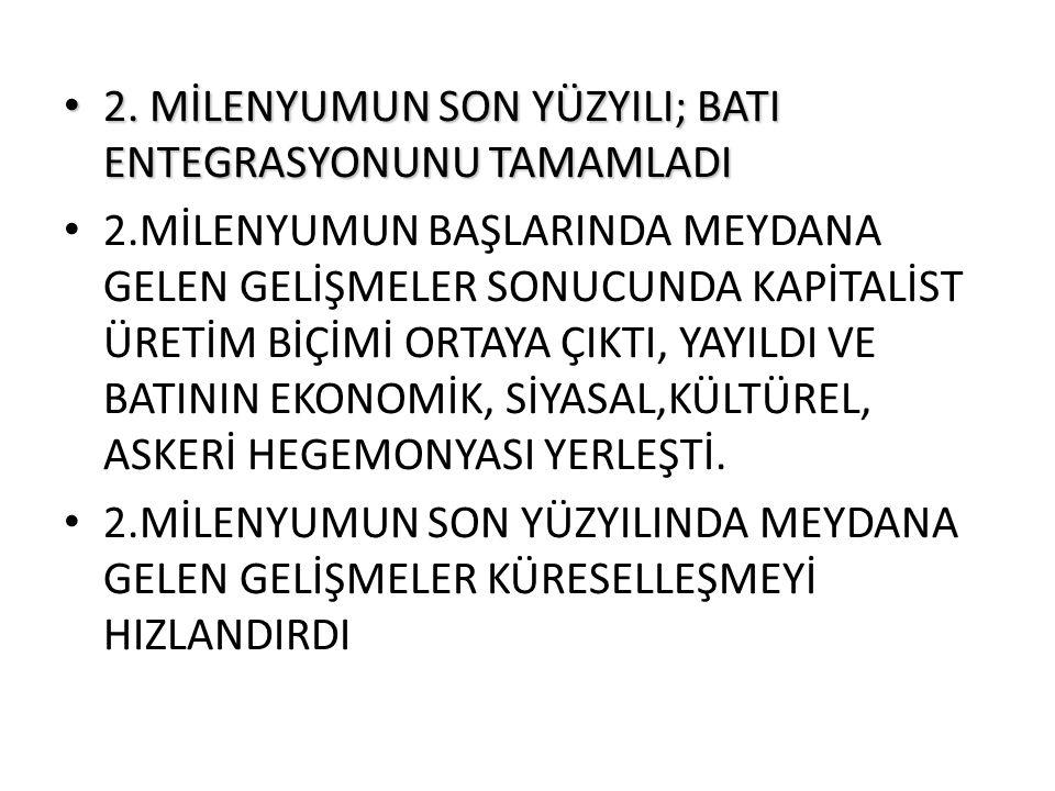 TEKNOLOJİ VE VERİMLİLİK Türkiye nin kilo başına ortalama ihracat değeri 1,3 dolar Bir ton en iyi kalite kiraz ihracat bedeli = 1500 dolar Türkiye nin ihraç ettiği uçak simülatörü ihracat değeri = 15 milyon dolar, ağırlığı = 7 ton 1 ton ihracat değeri = 2.1 milyon dolar nanoteknoloji malzemeden üretilen kalp stent i 1 ton ihracat değeri = 10 milyar dolar
