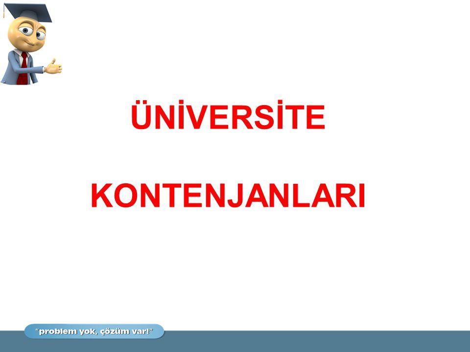  Mrk.Yerleştirmeyle Öğrenci Alan Programlar (AÖF hariç) Devlet Üniv.: 590.671 Vakıf Üniv.