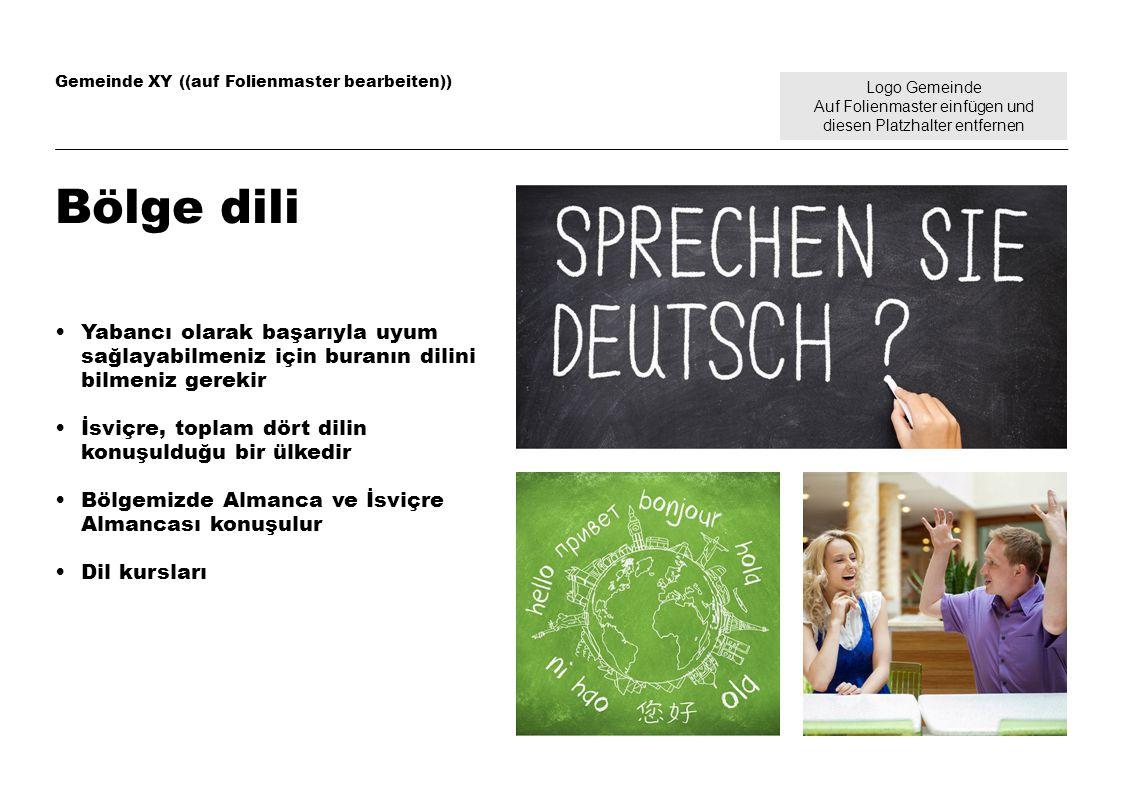 Logo Gemeinde Auf Folienmaster einfügen und diesen Platzhalter entfernen Gemeinde XY ((auf Folienmaster bearbeiten)) Sağlık Sağlık kasası üyeliği zorunludur; gelirinize bağlı olarak prim indirimi mümkündür Comparis (sigortaları karşılaştırma portali) Kaza sigortası işveren üzerinden yapılır Aile doktoru Sağlık konularında eczanelere danışma imkânı