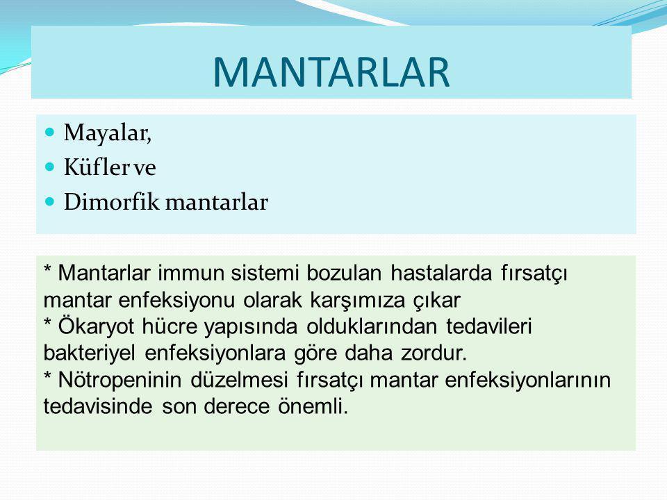 5 Mantar patojenitesinin temel mekanizması 1-Dokudaki ısıya ve diğer şartlara adapte olabilme 2-Konağın savunmasına karşı dayanma şeklinde özetlenmektedir