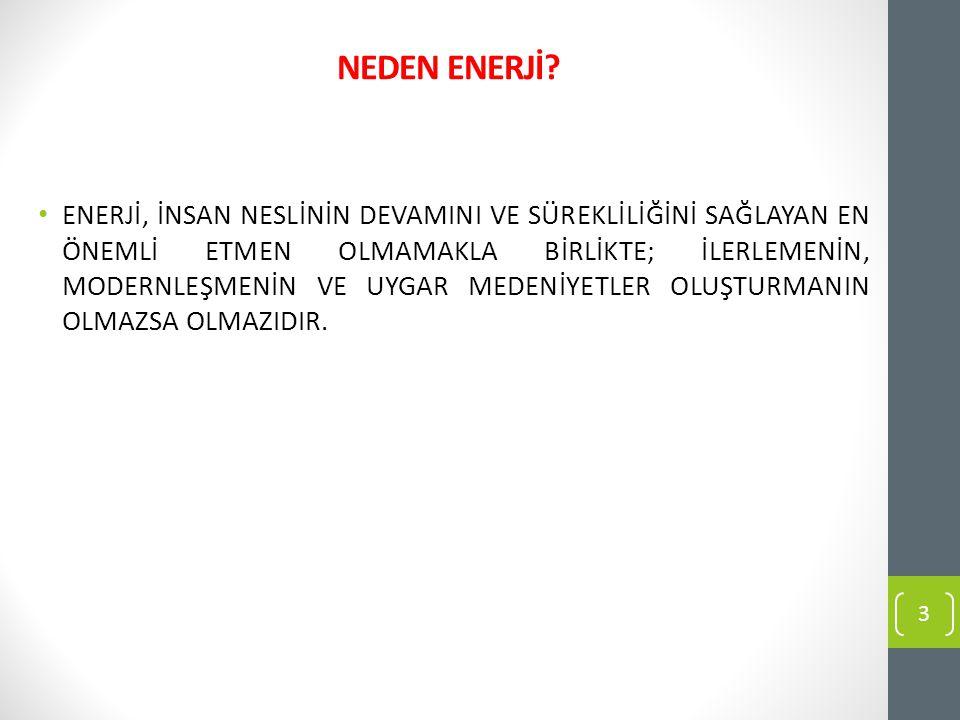 NEDEN ENERJİ.
