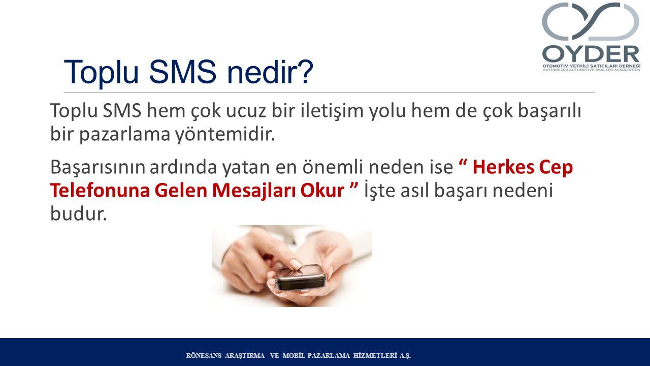 Toplu SMS nedir.