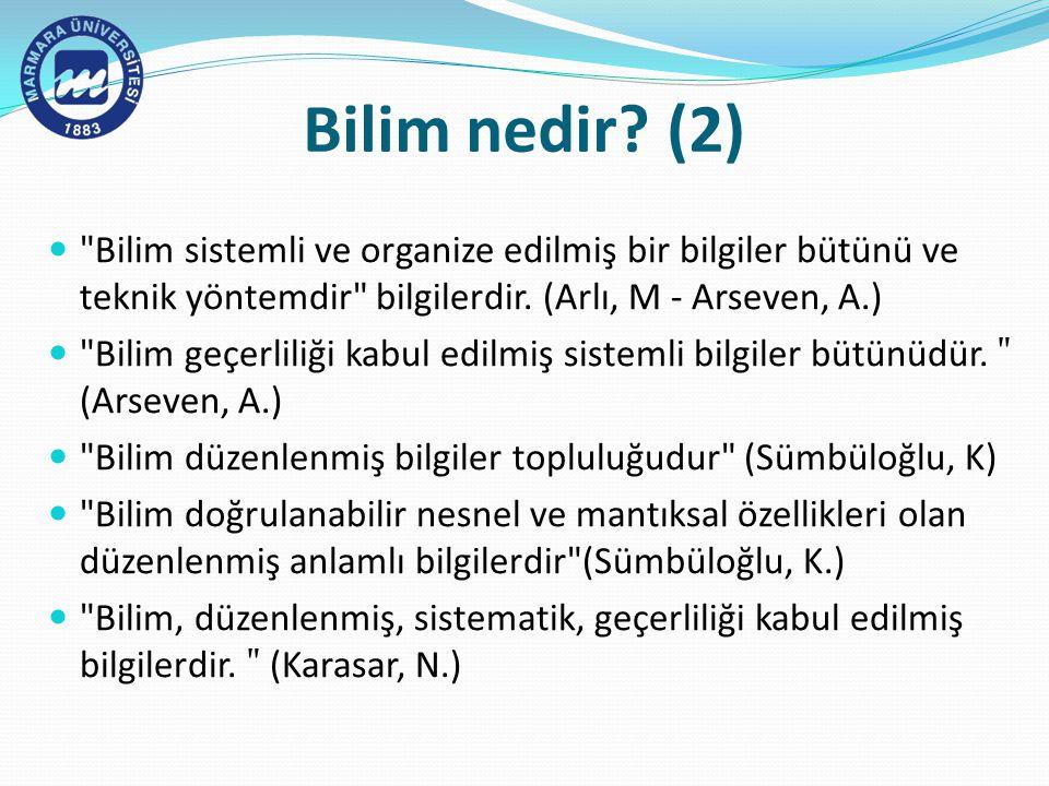 Araştırma Raporunun Yazılması Kaynakça Araştırmanın bu bölümünde, araştırmada yararlanılan tüm kaynaklar alfabetik bir düzen ve belirli bir sistem içerisinde verilir.