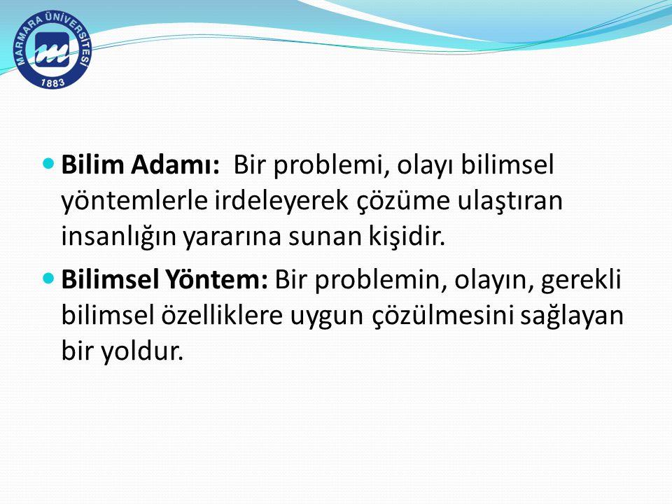 Kaynakça  Sümbüloğlu, Vildan ve Sümbüloğlu, Kadir (2000) Sağlık Bilimlerinde Araştırma Yöntemleri Hatiboğlu Yayınevi Sistem Ofset, Ankara.