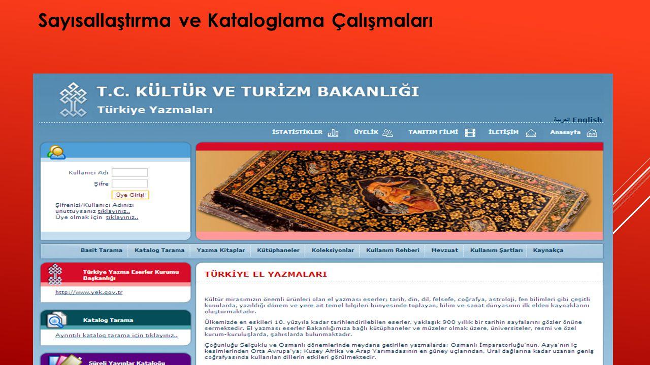 c.KATALOGLARDA AYRINTILAR YER VERİLMESİ