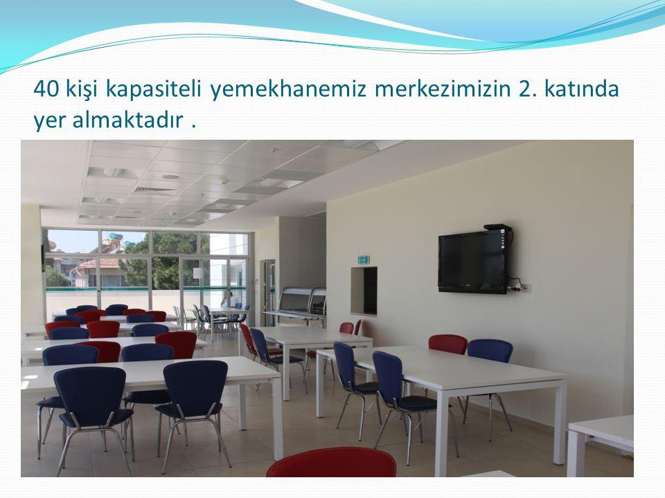 Merkezimizdeki eğitim ve toplantılar 50 kişi kapasiteli konferans salonunda gerçekleşmektedir.