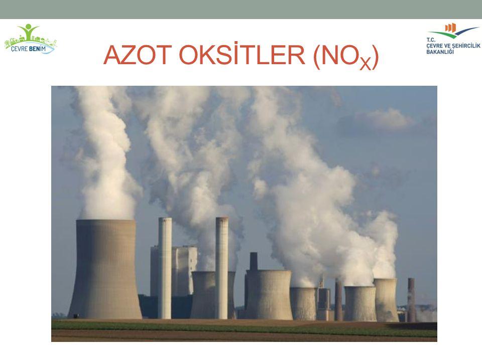 AZOT OKSİTLER (NO X )