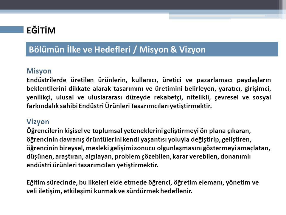 EĞİTİM Mevcut Durum / Ön koşullu dersler