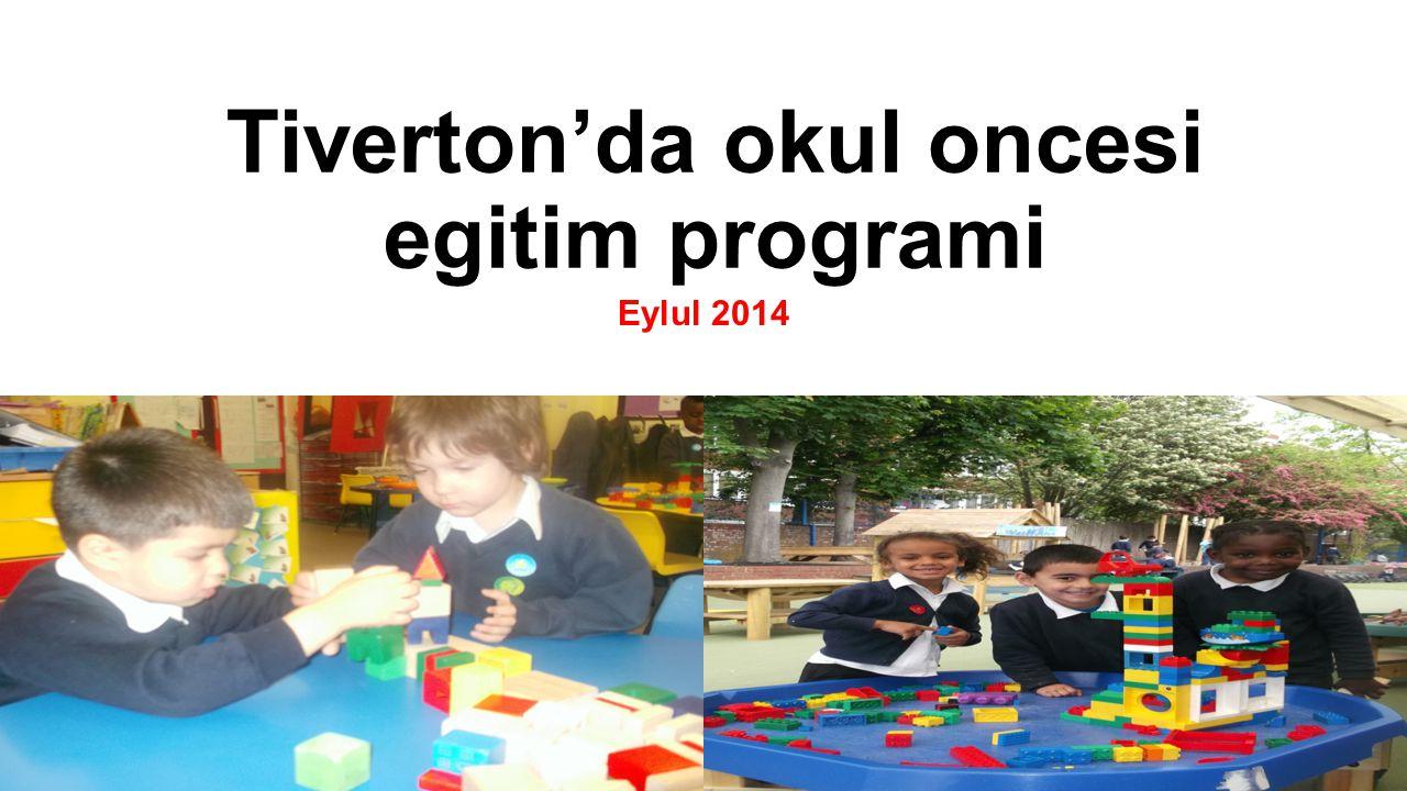 Tiverton'da okul oncesi egitim programi Eylul 2014