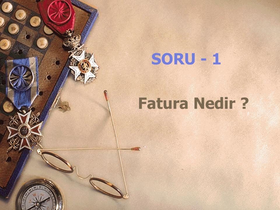 SORU - 14 İrsaliyede Onay Sistemi ve Önemi