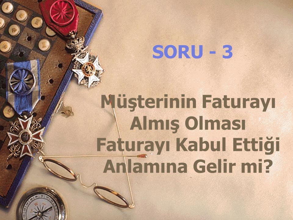 SORU - 12 Malzemeyi İrsaliye İle Teslim Ettiysek,Ayrıca İrsaliyeli Fatura Düzenleyerek Faturalandırabilirmiyiz?