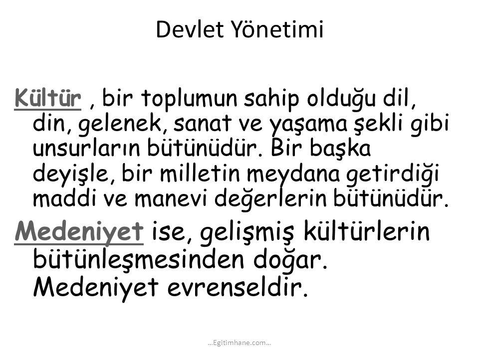 Eski Türk toplumunda en küçük sosyal birim ailedir.