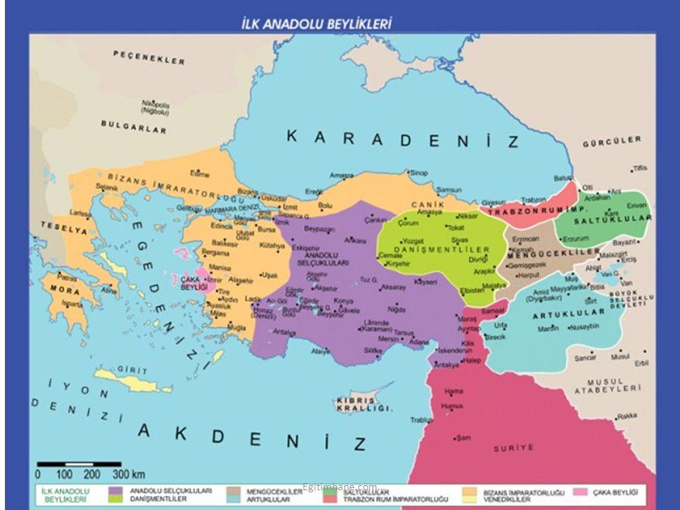 Orta Asya da, çeşitli Türk boylarının bir yönetim altına birleşmesiyle Türk devletleri kuruldu.