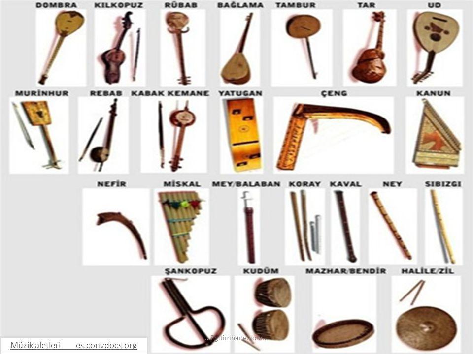 Müzik aletleri es.convdocs.org …Egitimhane.com…