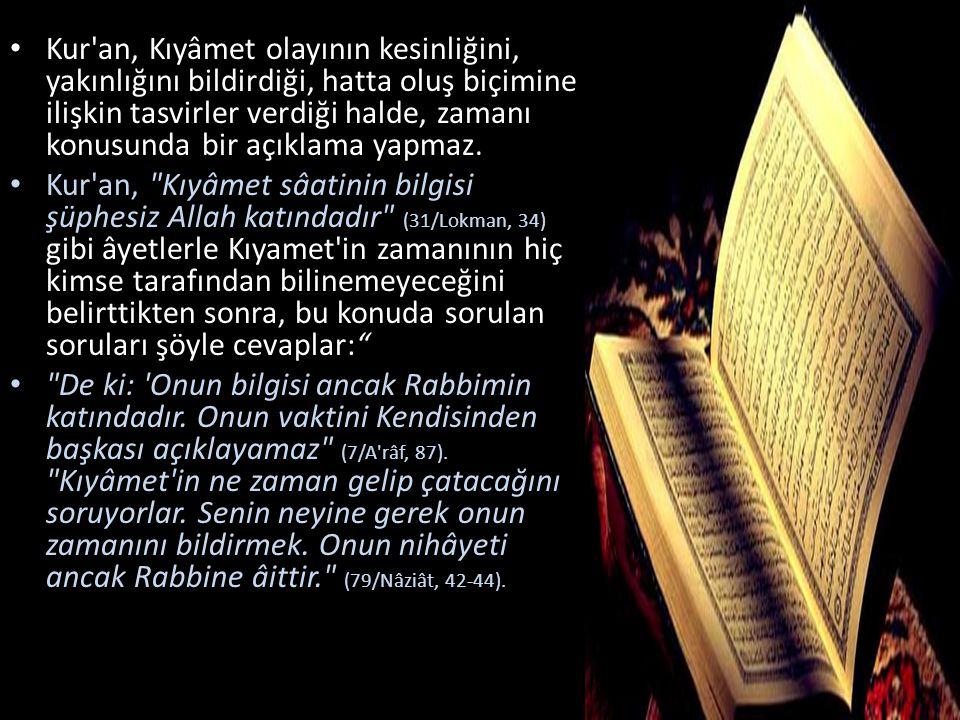Kur an-ı Kerîm ve hadis-i şeriflerde Cennet, çeşitli şekillerde tasvir edilmiştir.