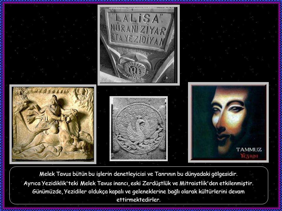 Aksine insan, ibadetin ona değil içi kötülüklerle dolu olana, Tavus'a yapılması ile kötülüğün en büyük kaynağından korunur. Bu anlamda iyilik ve kötül