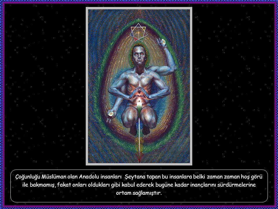 Yezidilikte Şeytanın sahip olduğu özellikler diğer dinlerden farklıdır.