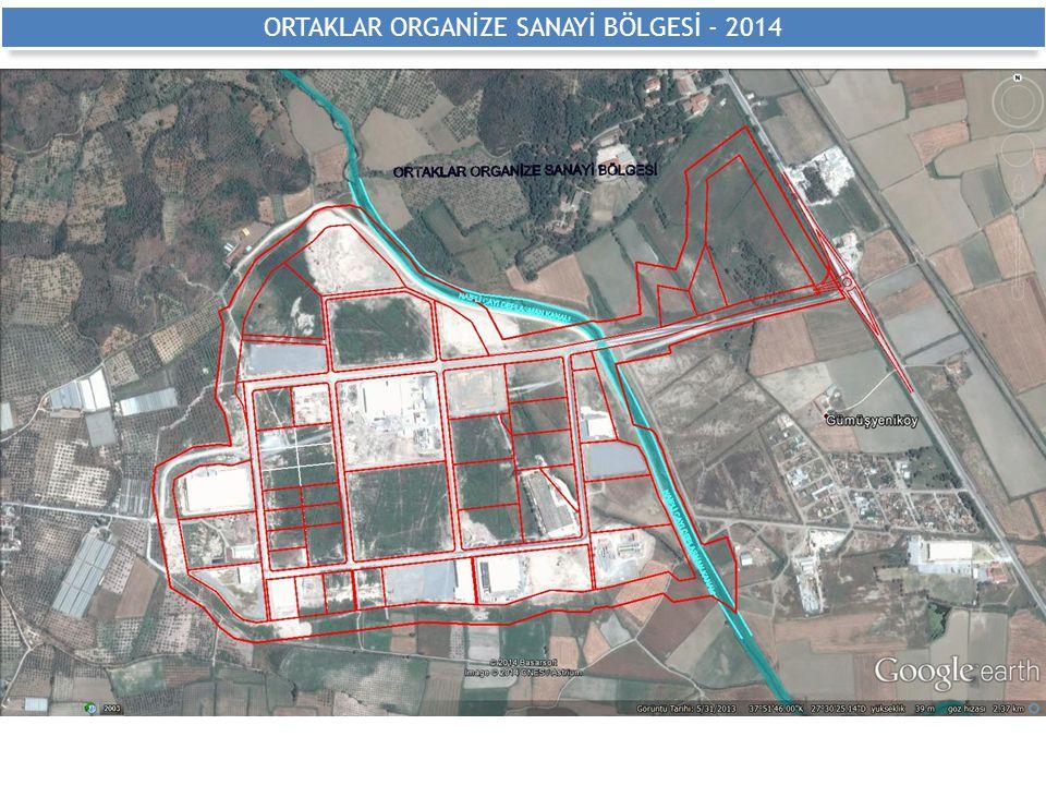 ORTAKLAR ORGANİZE SANAYİ BÖLGESİ - 2014