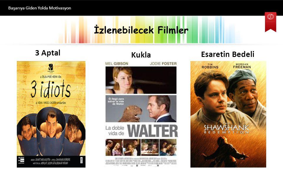 İzlenebilecek Filmler Başarıya Giden Yolda Motivasyon Kukla 3 Aptal Esaretin Bedeli