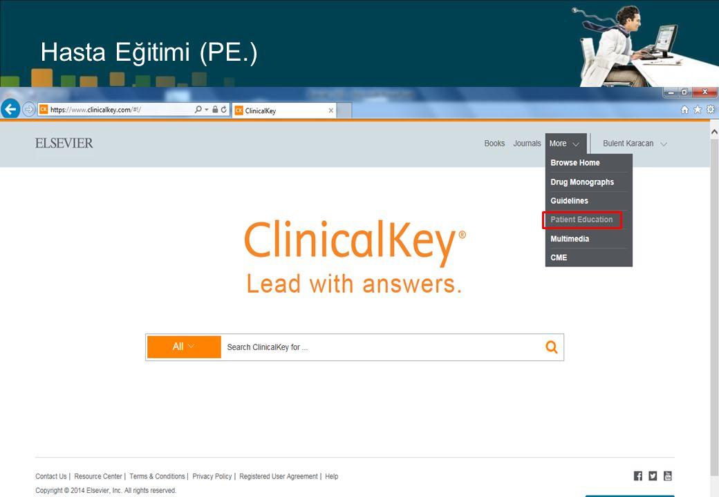 Hasta Eğitimi (PE.)