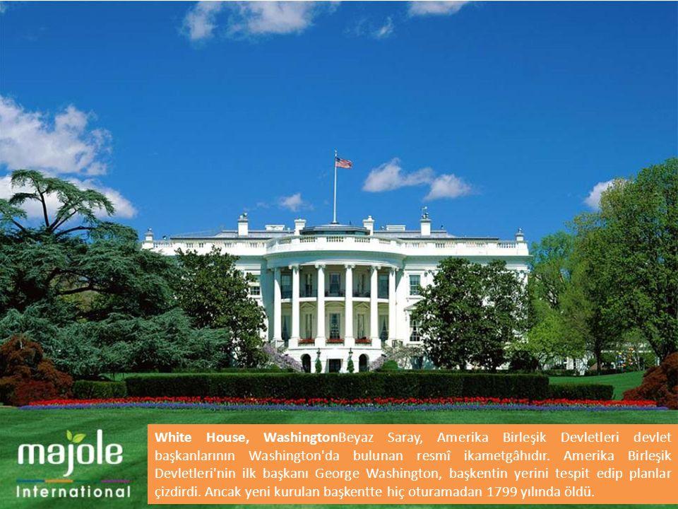 White House, WashingtonBeyaz Saray, Amerika Birleşik Devletleri devlet başkanlarının Washington'da bulunan resmî ikametgâhıdır. Amerika Birleşik Devle