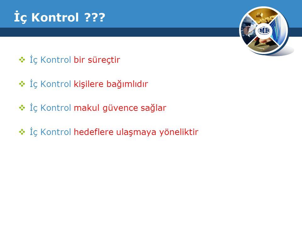 İç Kontrol ??.