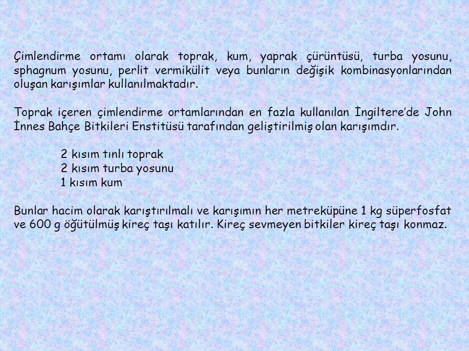 Leucojum aestivum (Göl soğanı) Galanthus elwesii (Toros kardeleni) Sternbergia lutea (Karaçiğdem) Arum italicum (Yılan fıstığı) Geranium tuberosum (Deve tabanı) Anemone bland (Yoğurt çiçeği) Cyclamen hederifolrum Cyclamen coum Cyclamen cilicium Fritillaria persica (Adıyaman lalesi) Fritillaria imperialis (Ağlayan gelin) Eranthis hyemalis (Sarı kar çiçeği) Lilium candidum (Mis zambağı) Dracunculus vulgaris (Yılan bıçağı)