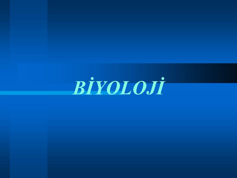 BİYOLOJİ