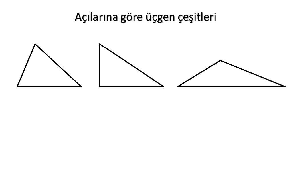 Açılarına göre üçgen çeşitleri