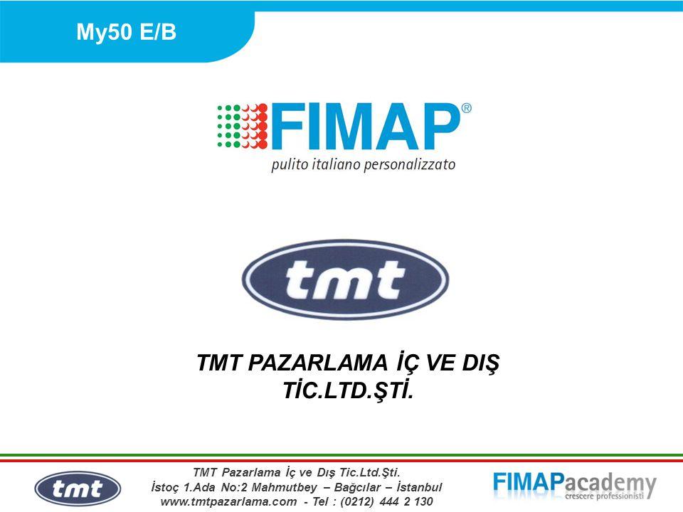 My50 E/B TMT PAZARLAMA İÇ VE DIŞ TİC.LTD.ŞTİ. TMT Pazarlama İç ve Dış Tic.Ltd.Şti.