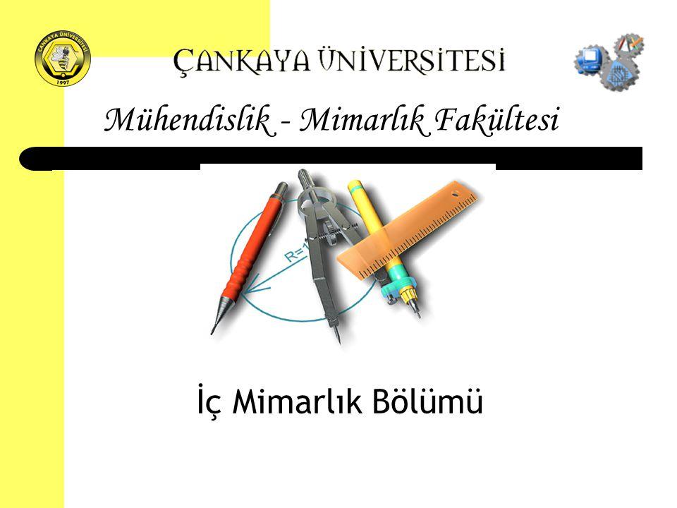 Mühendislik - Mimarlık Fakültesi İç Mimarlık Bölümü