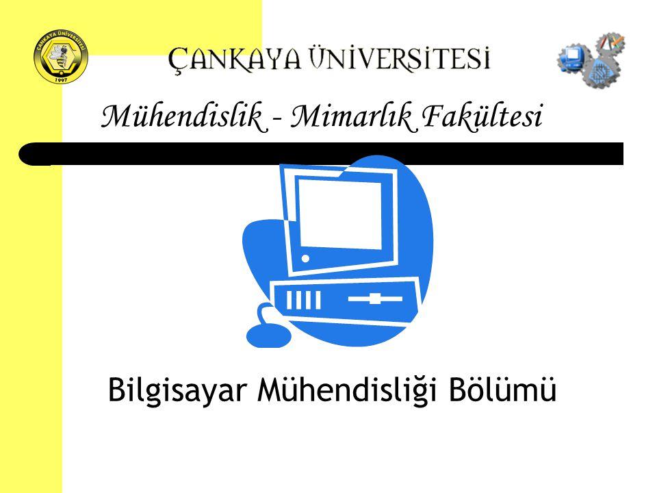 Mühendislik - Mimarlık Fakültesi Bilgisayar Mühendisliği Bölümü