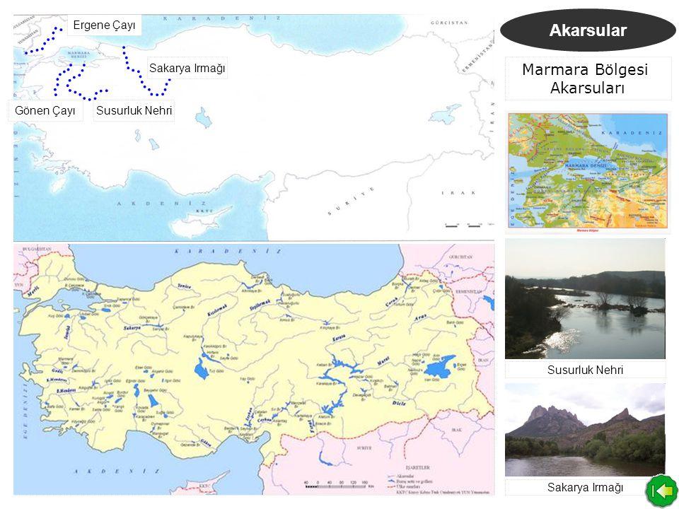 Göller Set Gölleri Akarsu vadilerinin doğal bir setle kapanması sonucu oluşan göllerdir.