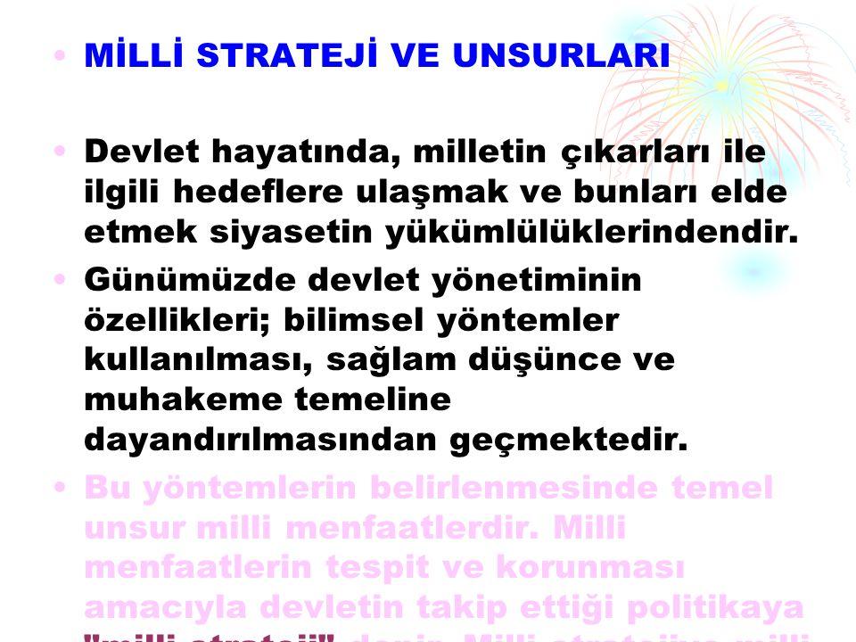 KOMŞULARtMIZ ve TARiHSEL HEDEFLERiYunanistan ın Hedefleri: Birçok ittifaka ortak üye olduğumuz Yunanistan, buna karşın en çok sorun yaşadığımız komşularımızdan biridir.Yunanistan ın uluslararası kuralları ihlal etmesi, Türk kompleksinden kurtulamaması, Megalo idea ile belirlenen hedeflerini elde etmek için girişimlerde bulunması ve bu girişimleri rahatça yapabilmek için Türkiye yi içte ve dışta zayıflatma gayretlerini sürdürmesi aramızdaki sorunların kaynağını oluşturmaktadır.