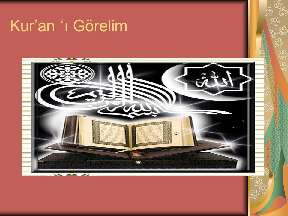 Kur'an 'ı Görelim