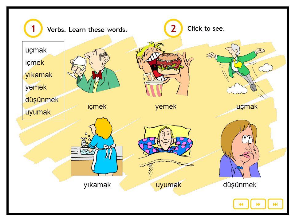 Recall: Consonant Harmony © 2010 Study Turkish Words ending with p, ç, t, k If added a suffix starting with a vowel p, ç, t, k softens and becomes b, c, d, g, ğ dolap  dolaba, dolabı kitap  kitabı, kitaba yemek  yemeği, yemeğe kalp  kalbi, kalbe renk  rengi, renge (if ends with nk k  g, otherwise k  ğ) ağaç  ağacı, ağaca kanat  kanadı, kanada Exeption: kanıt  kanıtı, kanıta; avukat, Can not be generalized to all the words Mostly does not soften for words with one vowel saç, ip, iç, at, ak, ok  saçı, ipi, içi, atı, akı, oku Exeption: çok  çoğu