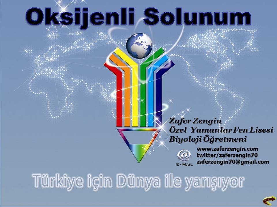 Zafer Zengin Özel Yamanlar Fen Lisesi Biyoloji Öğretmeni www.zaferzengin.com twitter/zaferzengin70 zaferzengin70@gmail.com
