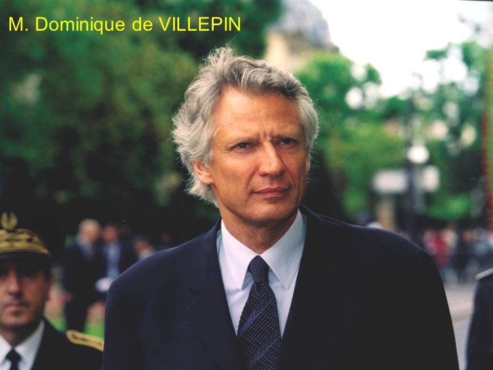 XI/EPLO-MI/DEPAFI M. Dominique de VILLEPIN